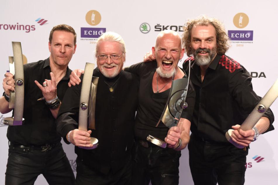 """Santiano bekam 2016 den Echo in der Kategorie """"Volkstümliche Musik""""."""