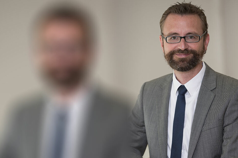 Jürgen Amann (46), Geschäftsführer der Dresden Marketing Gesellschaft.