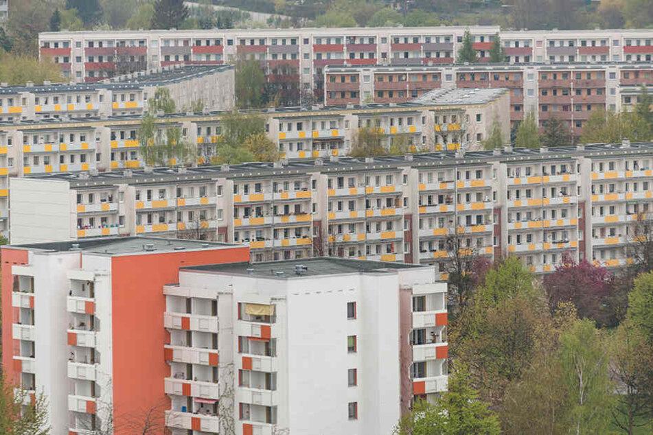 Viele Platten in Gorbitz sind  mittlerweile saniert, können also nicht mehr unter Denkmalschutz gestellt  werden.