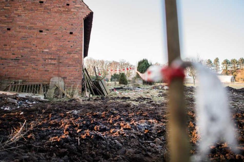 Die drei Leichen fand man auf den Höfen in Hille.