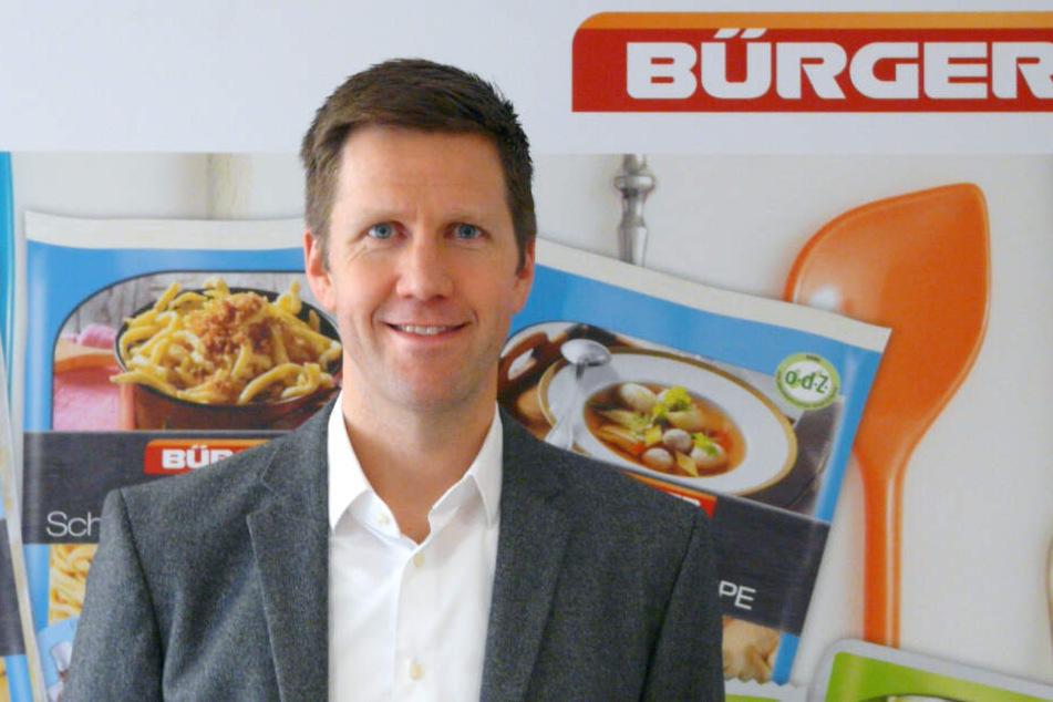 Der Geschäftsführer Martin Bihlmaier.