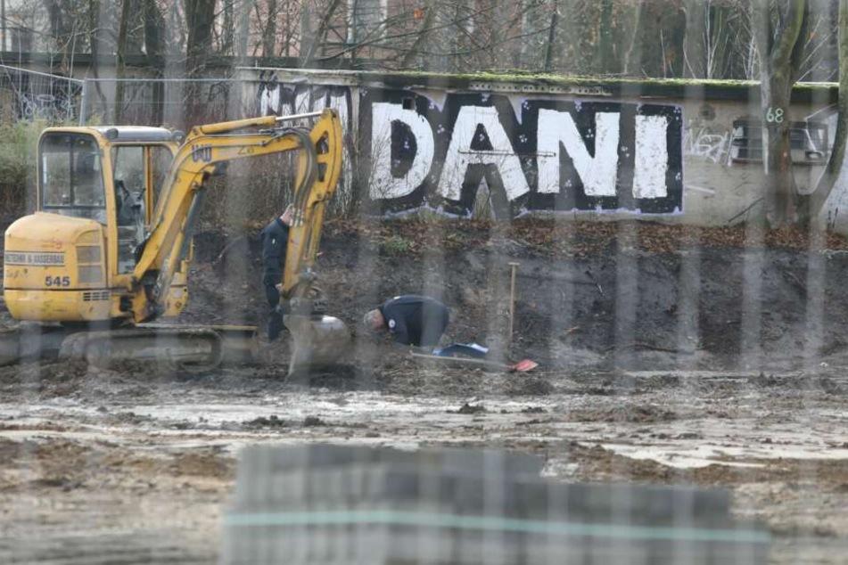 Wieder wurde auf einer Baustelle in der Essener Straße in Leipzig eine Bombe gefunden.