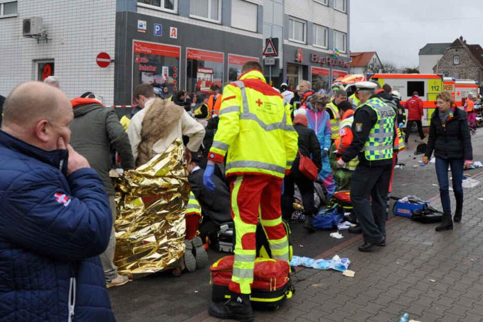 Beim Attentat von Volkmarsen wurden am Rosenmontag 76 Menschen teils schwer verletzt.