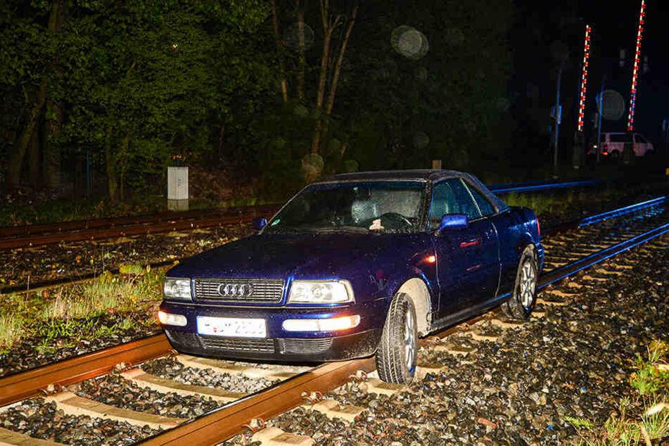 Die Bahnstrecke musste zwei Stunden lang gesperrt werden.