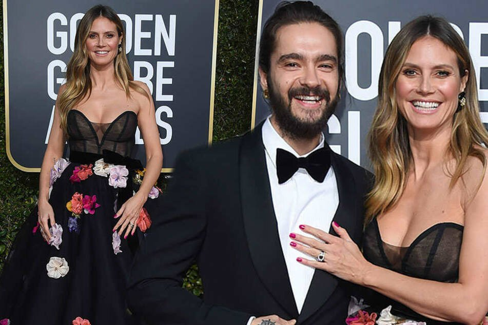 Heidi Klum: Bei diesem Dekolleté muss selbst Tom Kaulitz lachen