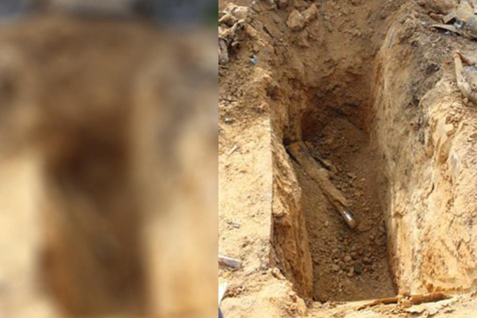 Ein Mann wurde am Dienstag in einer Baugrube von Erde verschüttet und starb. (Symbolbild)