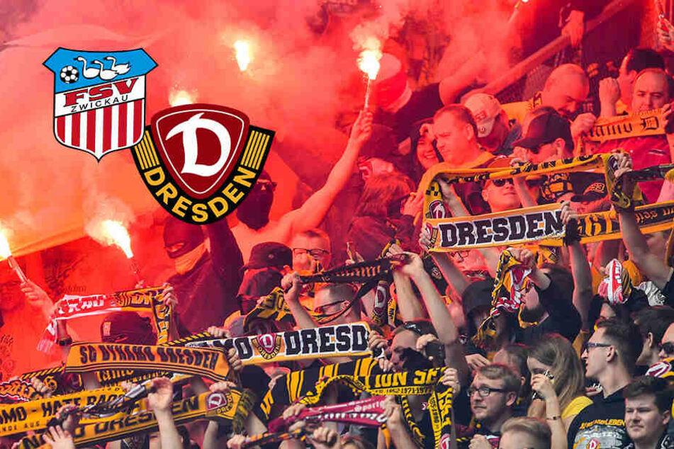 Dynamo-Krawallmacher vor FSV-Spiel gestoppt