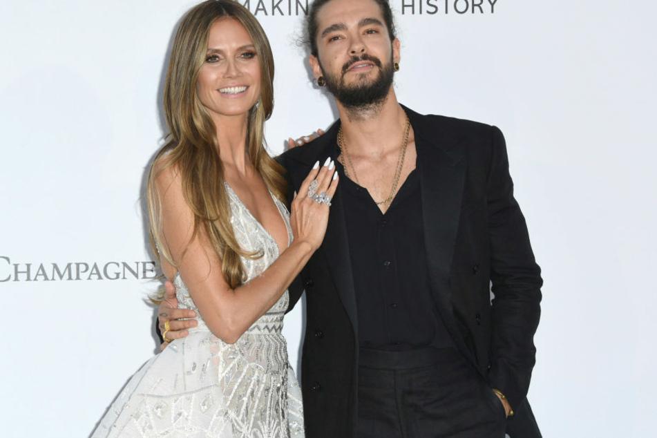 Heidi Klum (45) und Tom Kaulitz (29) sind auch privat total verknallt.