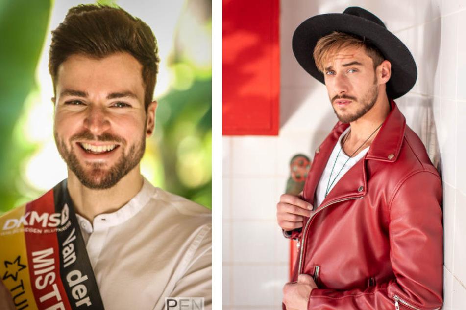 Tobias (28, l. ) und Sasha (27) rechnen sich gute Chancen aus, beim Finale unter die Top 5 zu kommen.