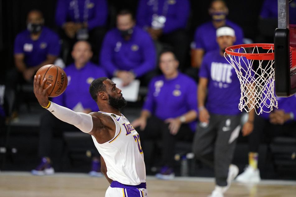 Basketball-Superstar LeBron-James und seine NBA-Kollegen werfen ab dem 22. Dezember wieder Körbe.