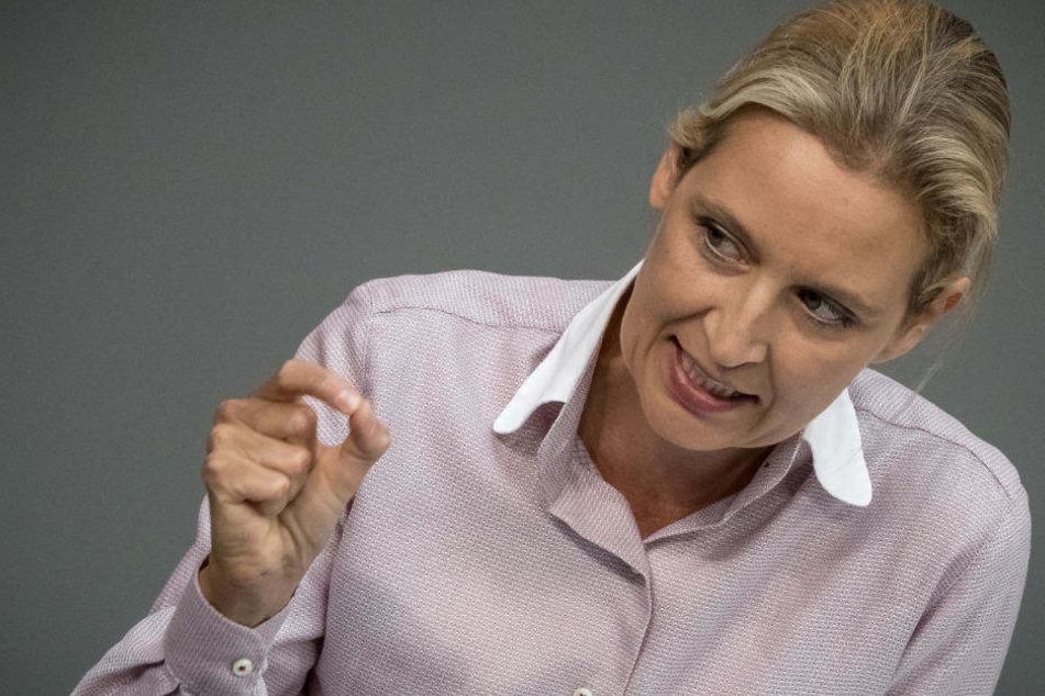 Alice Weidel hat sich bei der Generalaussprache im Bundestag eine Rüge eingefangen.
