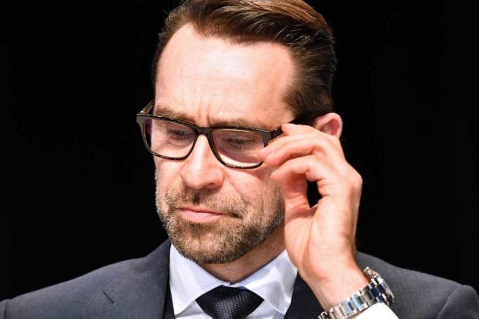 Hertha-Manager Michael Preetz schaut auf ein Umsatz-Rekordjahr zurück.