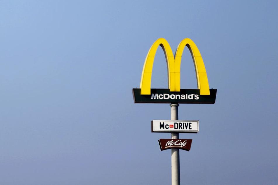 In einer McDonald's-Filiale in Schottland eskalierte der Mann.