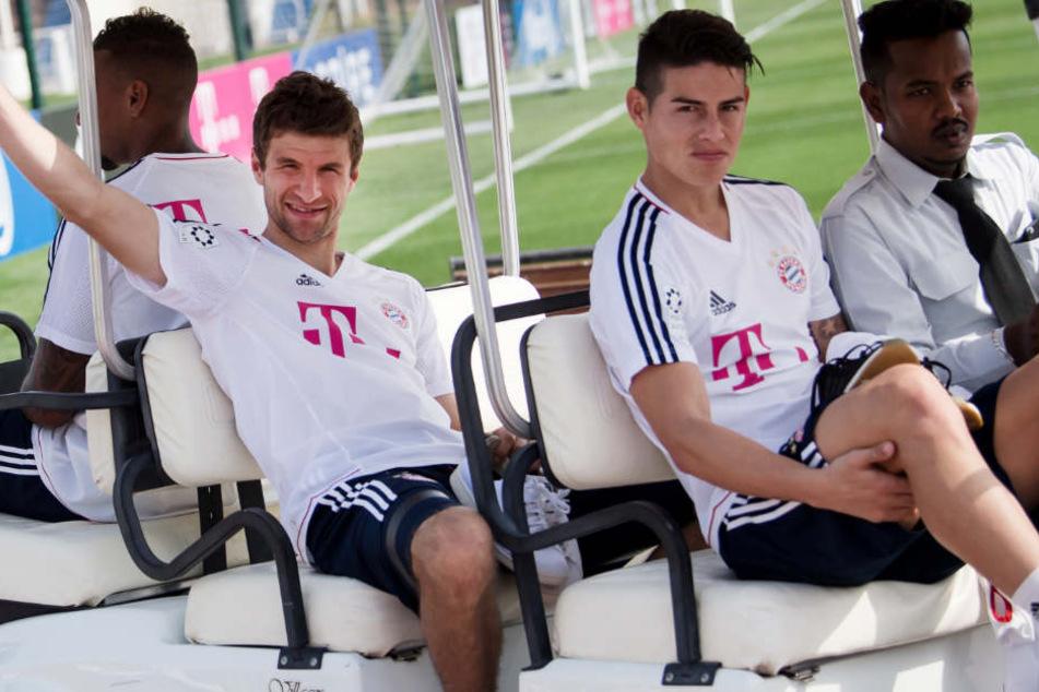 Der FC Bayern München bereitet sich auf die Rückrunde vor. (Archivbild)