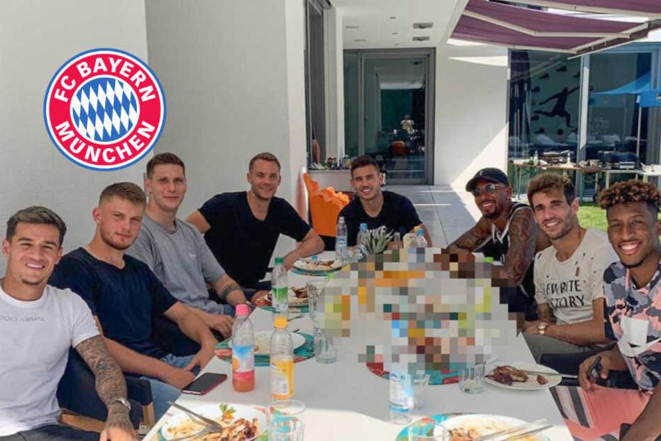 Grill-Fete bei Bayern München: Doch ein Detail irritiert die Instagram-Fans