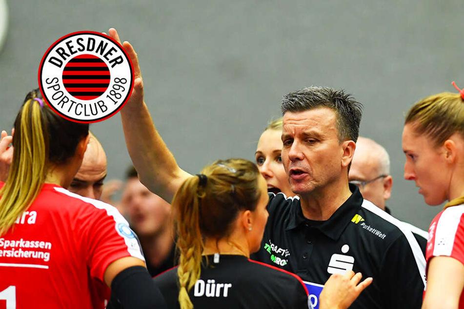 Nach Auftakt-Niederlage: Dresdner SC muss bei Meister Stuttgart ran!