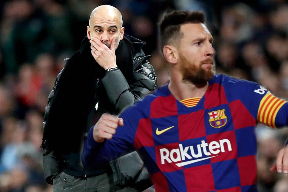 Lionel Messi zu City? Pep Guradiola bastelt wohl am Mega-Transfer-Hammer!