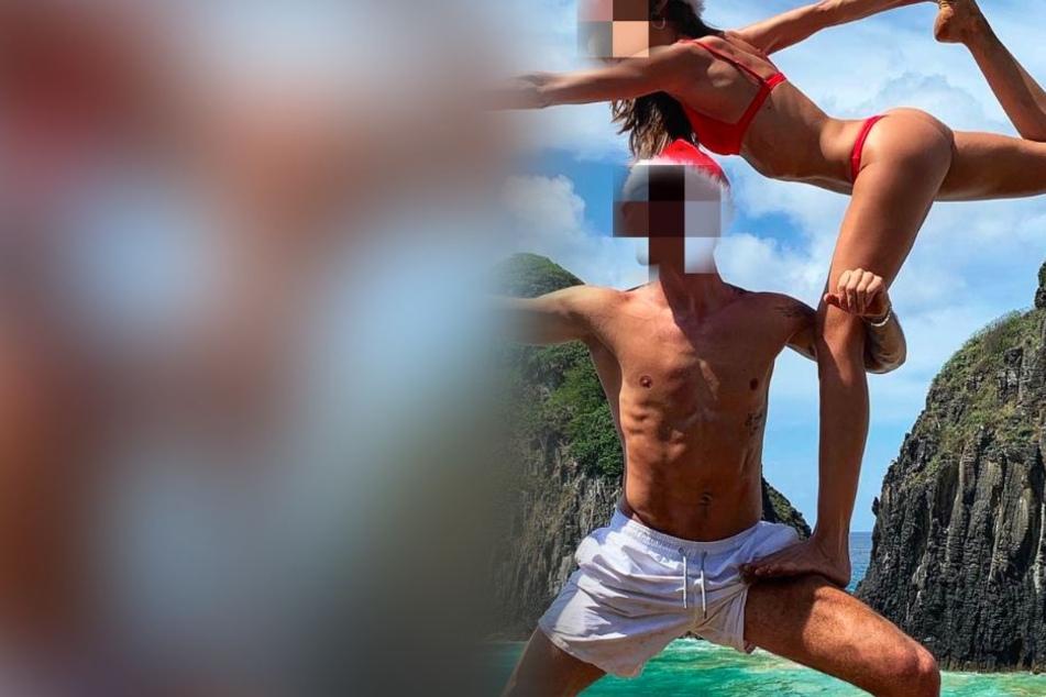 Sexy! Promi-Traumpaar schickt seinen Fans akrobatischen Weihnachtsgruß