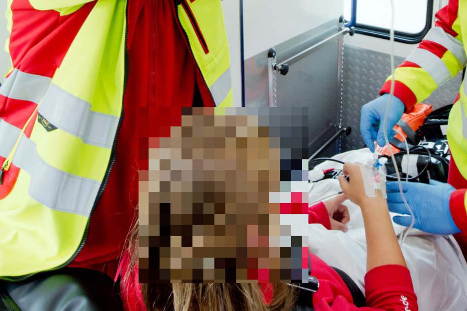 Das Opfer der Messerattacke kam verletzt in ein Krankenhaus. (Symbolbild)