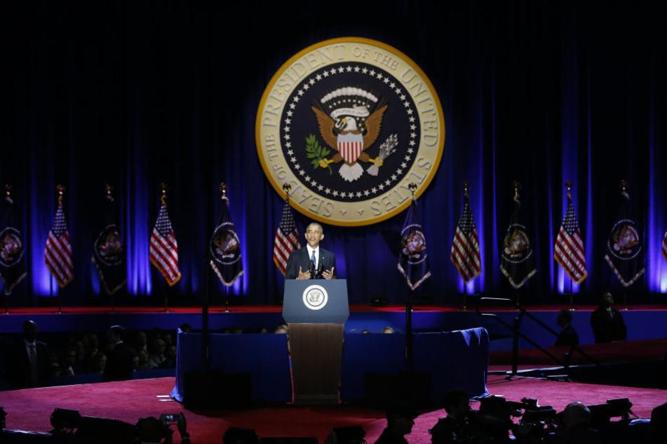 Es war die letzte Ansprache von Obama als 44. Präsident der Vereinigten Staaten von Amerika.