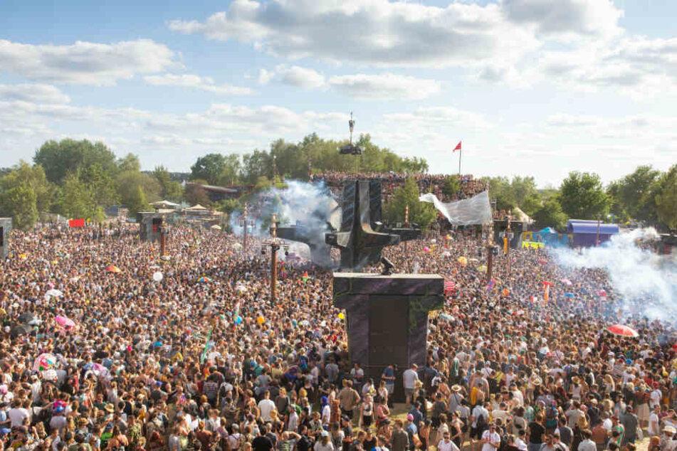 Auf dem Fusion-Festival kam es zu einer Spanner-Attacke.
