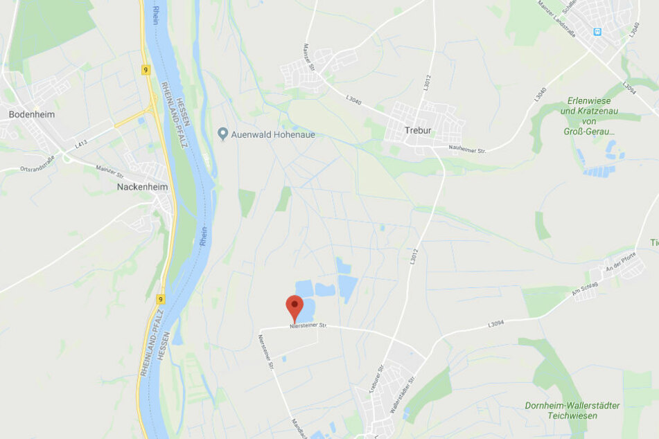 Der Unfall ereignete sich in der Nähe der Niersteiner Straße.