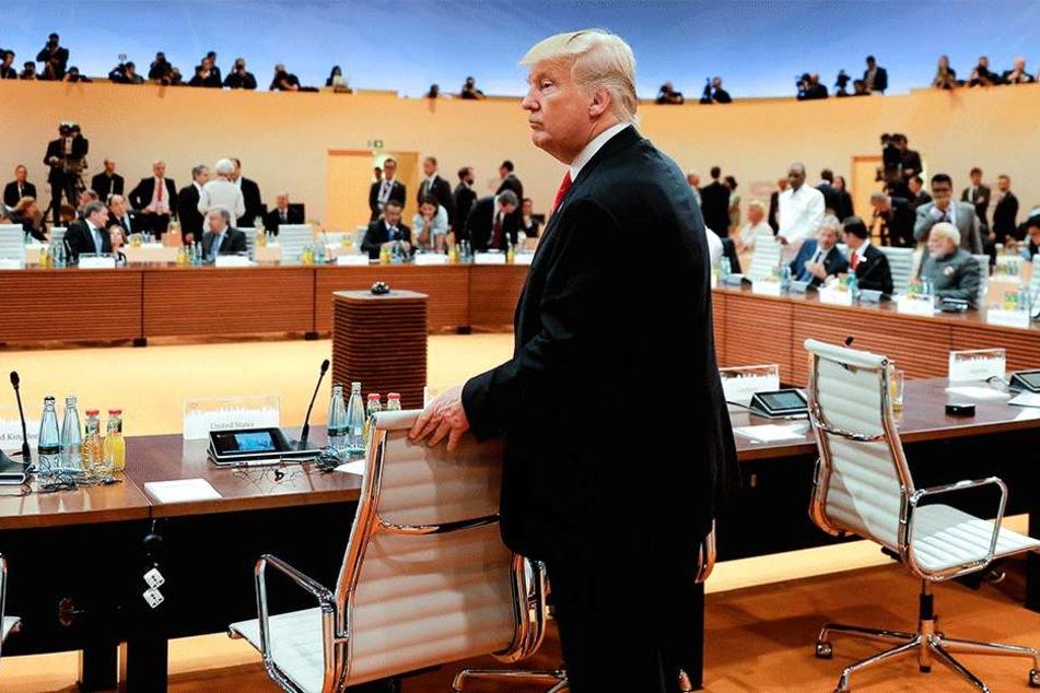 Präsident Donald Trump (71) wirkt laut Insidern und Beobachtern zunehmend irritiert und durcheinander.