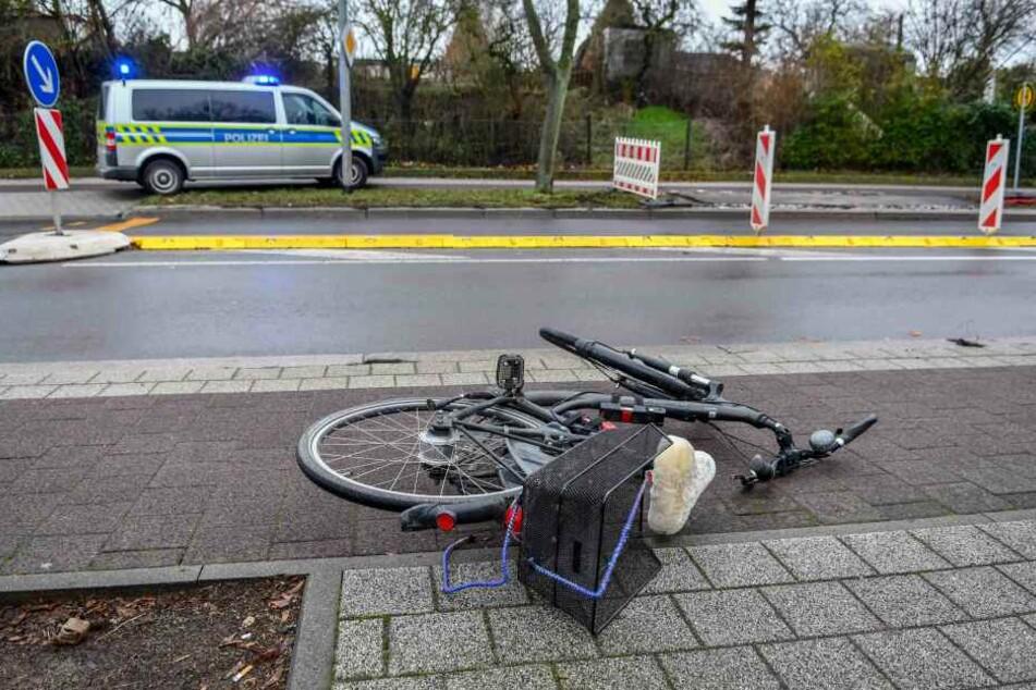 In Magdeburg ereignete sich am Freitag ein schwerer Unfall.