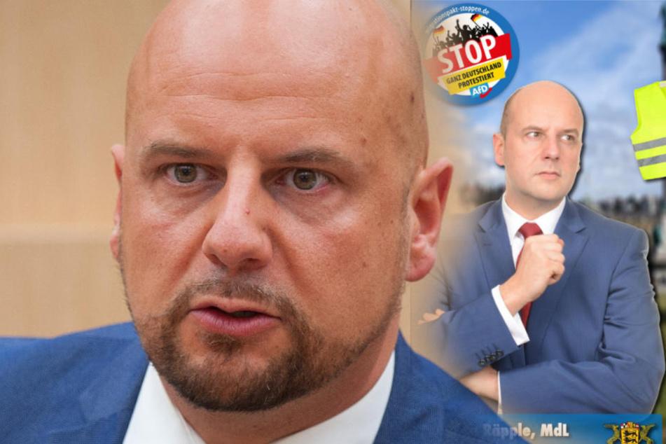 AfD-Abgeordneter Räpple provoziert und löst Tumult im Landtag aus