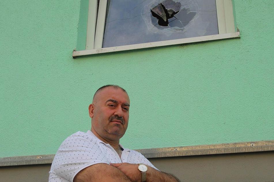 Der Anschlag auf die Moschee von Vorstand Mahmut Bacaru (50) ist aufgeklärt.
