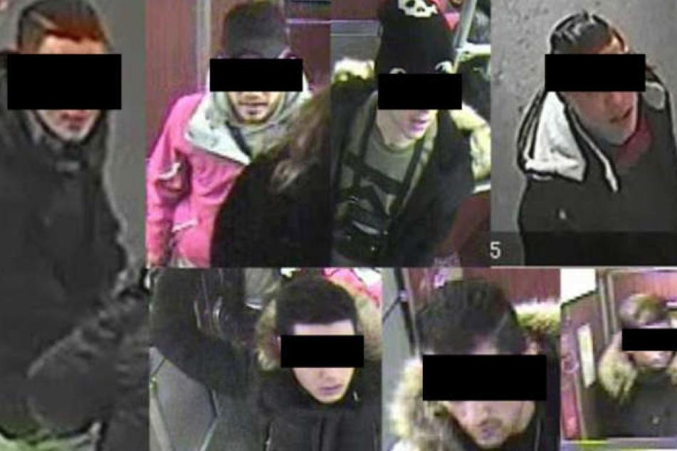 Mit diesen Überwachungsbildern suchte die Polizei nach den mutmaßlichen Tätern.