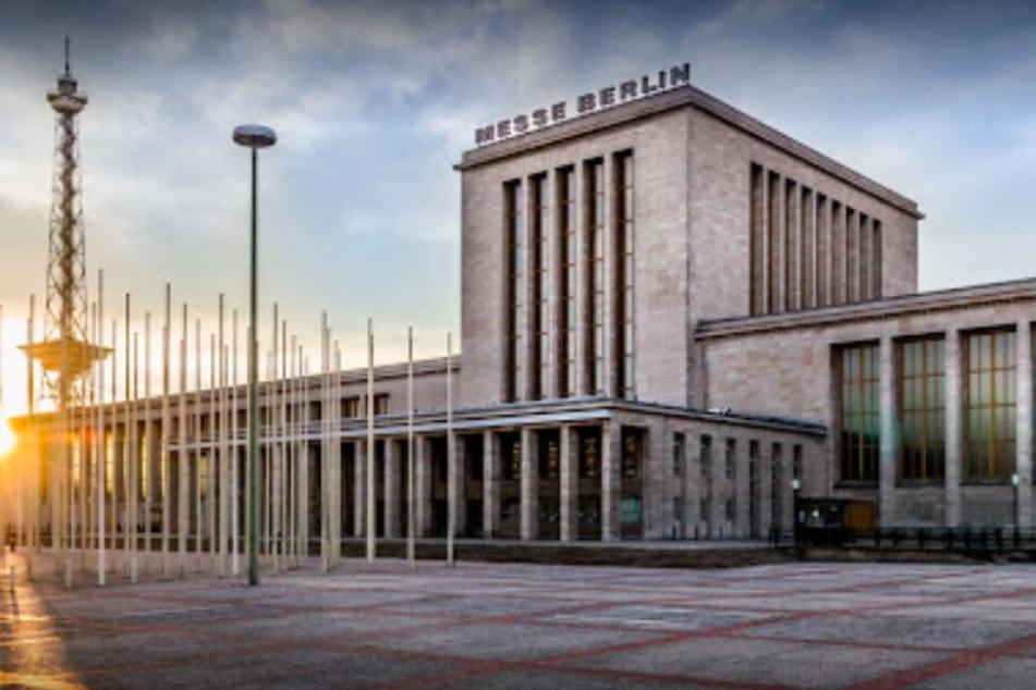 Die Messe Berlin am Messedamm 22.