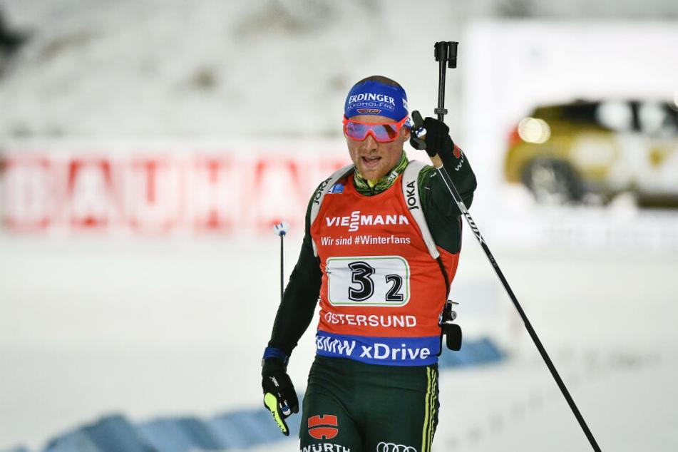 Erik Lesser kann wohl erst im September wieder auf die Skier steigen.