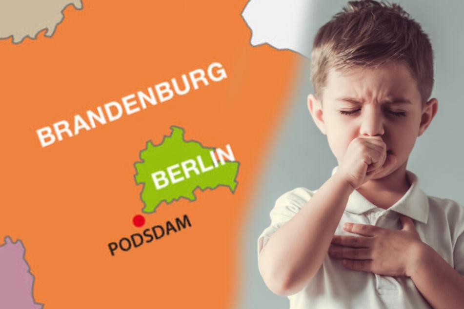 Besonders Atemwegserkrankungen kommen bei Brandenburger Kindern häufiger vor. (Symbolbild)