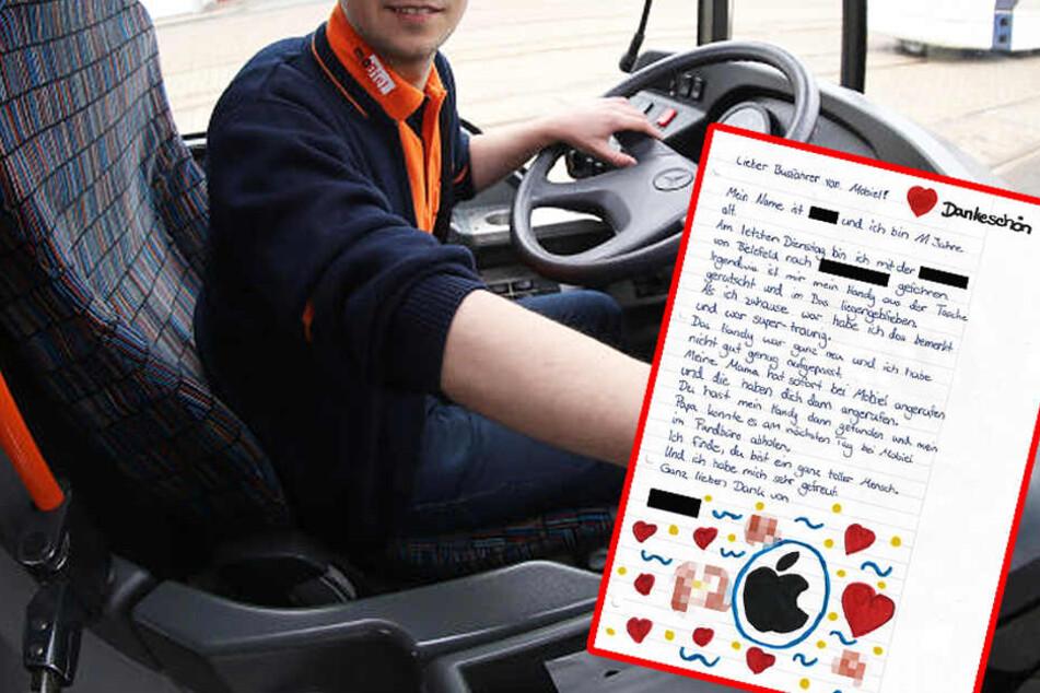 So süß! Mädchen schreibt rührenden Brief an Bus-Fahrer
