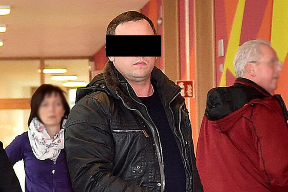 Wladimir W. (39) am Freitag vor dem Dresdner Amtsgericht.