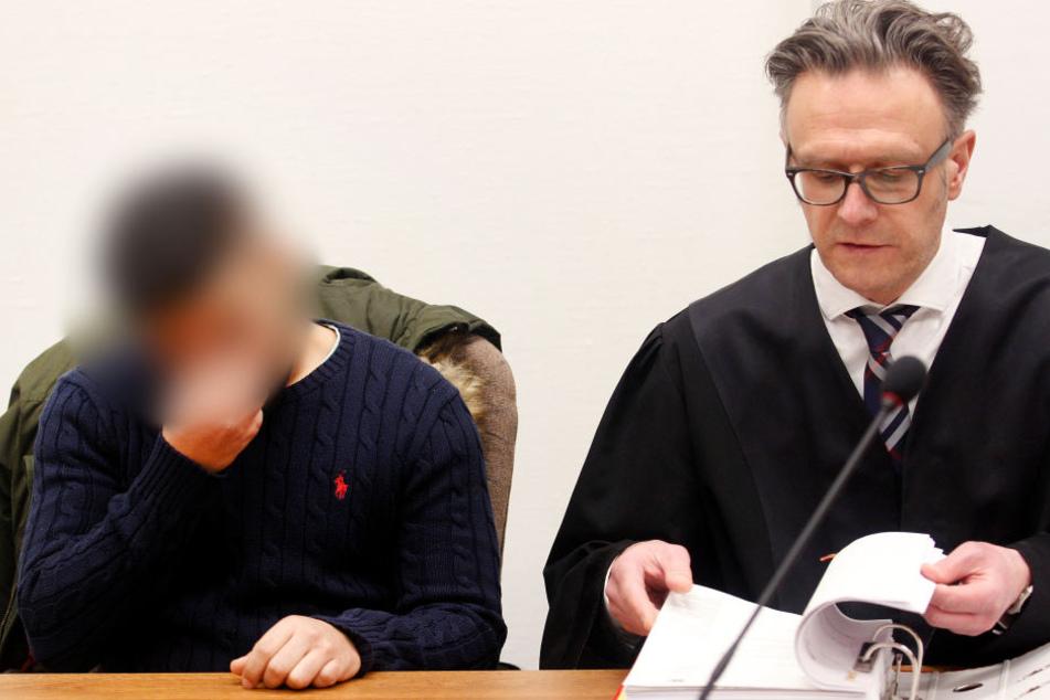 Einer der beiden Angeklagten beim Kölner Raser-Prozess.