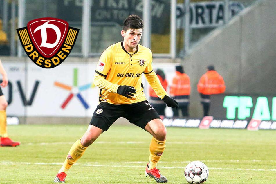 Dynamo Dresden: Gesperrter Nikolaou hat keine Angst um seinen Stammplatz