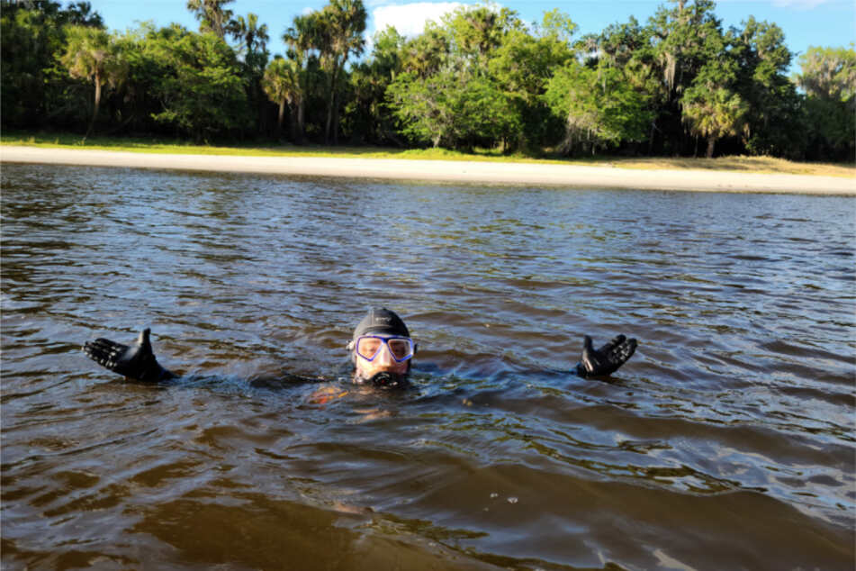 The divers risked meeting their fate with an alligator to make one of the rarest finds.