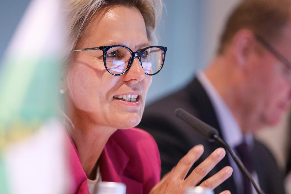 Barbara Klepsch (54, CDU), Kultur- und Tourismusministerin in Sachsen. (Archivbild)