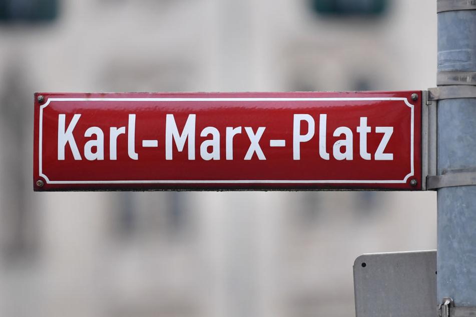 """Auch der """"Karl-Marx-Platz"""" ist ein Überbleibsel aus DDR-Zeiten."""