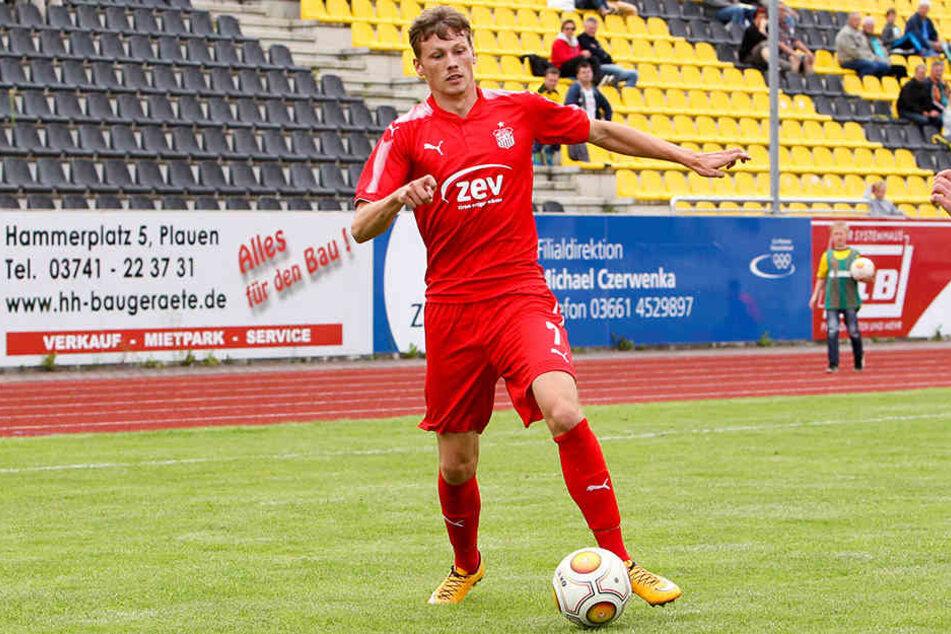 Der 26-jährige Stürmer hat seinen Vertrag aufgelöst und wechselt mit sofortiger Wirkung zu Regionalligist FSV Wacker Nordhausen.