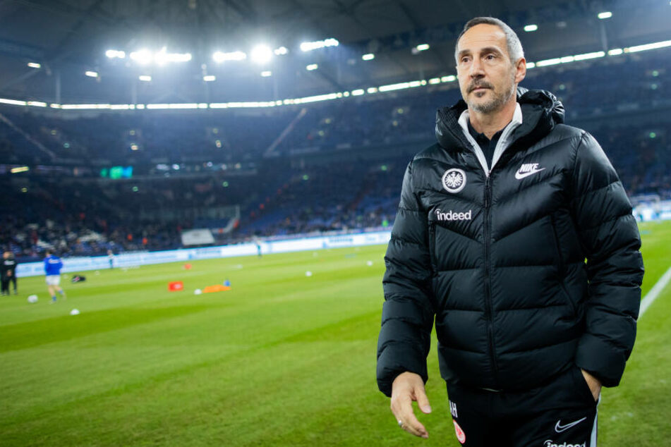 Eintracht-Coach Adi Hütter trainerte Red Bull Salzburg von 2014 bis 2015, holte die Meisterschaft und den nationalen Pokal.