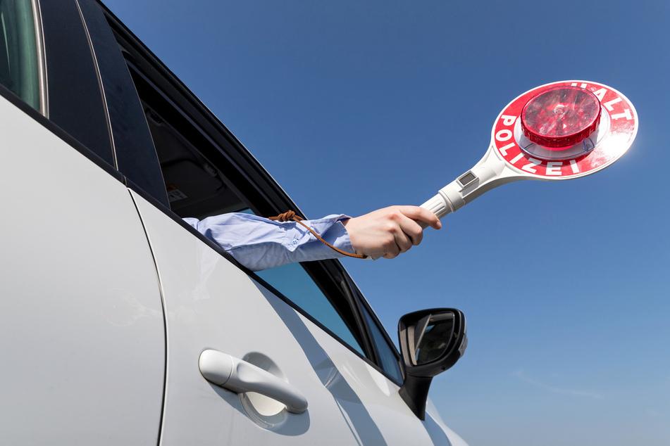 Ein 47-jähriger Audi-Fahrer ignorierte eine Polizeikontrolle in Meerane und flüchtete (Symbolbild).