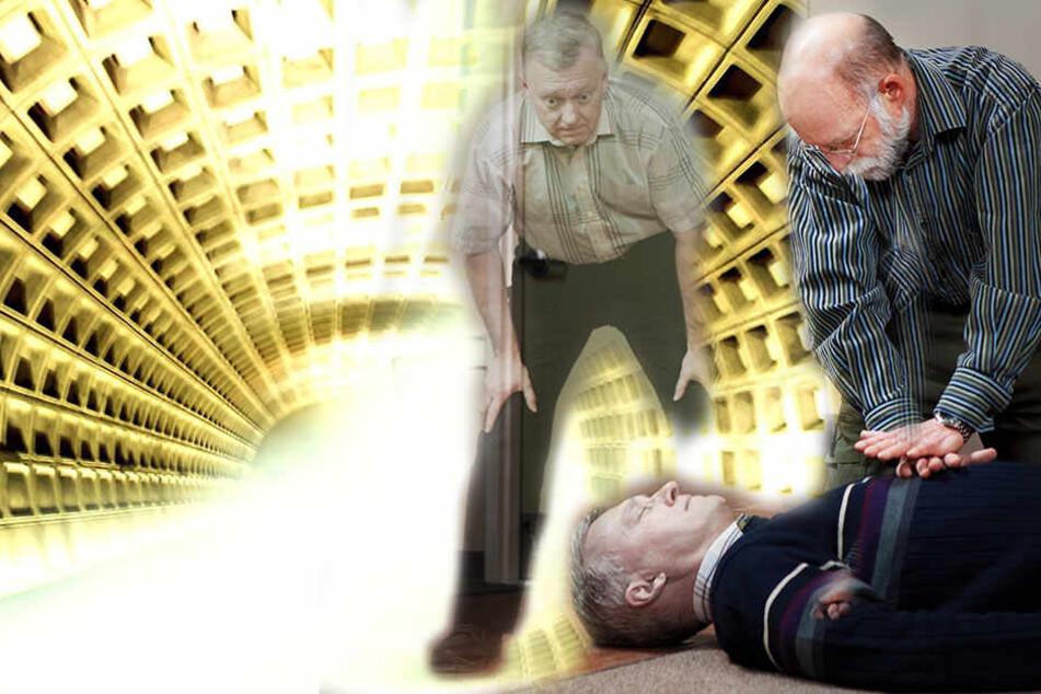 """Menschen mit Nahtoderfahrung berichten unter anderem, sie konnten sich beim Sterben """"zusehen""""."""