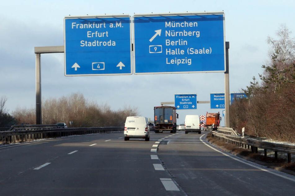 Hermsdorfer Kreuz wird zur Baustelle, Autofahrer brauchen Geduld