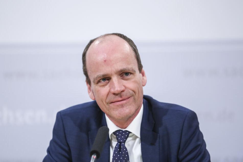 Finanzminister Matthias Haß (51, CDU).