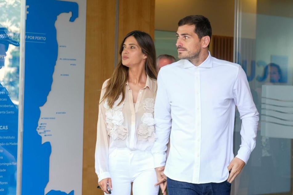Sara Carbonero und Iker Casillas verlassen Anfang Mai das Krankenhaus, nachdem der ehemalige Welttorhüter einen Herzinfarkt erlitten hatte.
