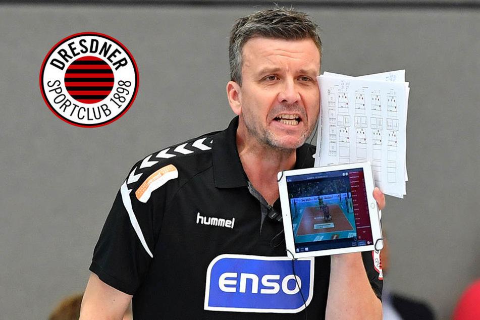 Für 20. Sieg in Serie: Coach Waibl überlässt beim Dresdner SC nichts dem Zufall