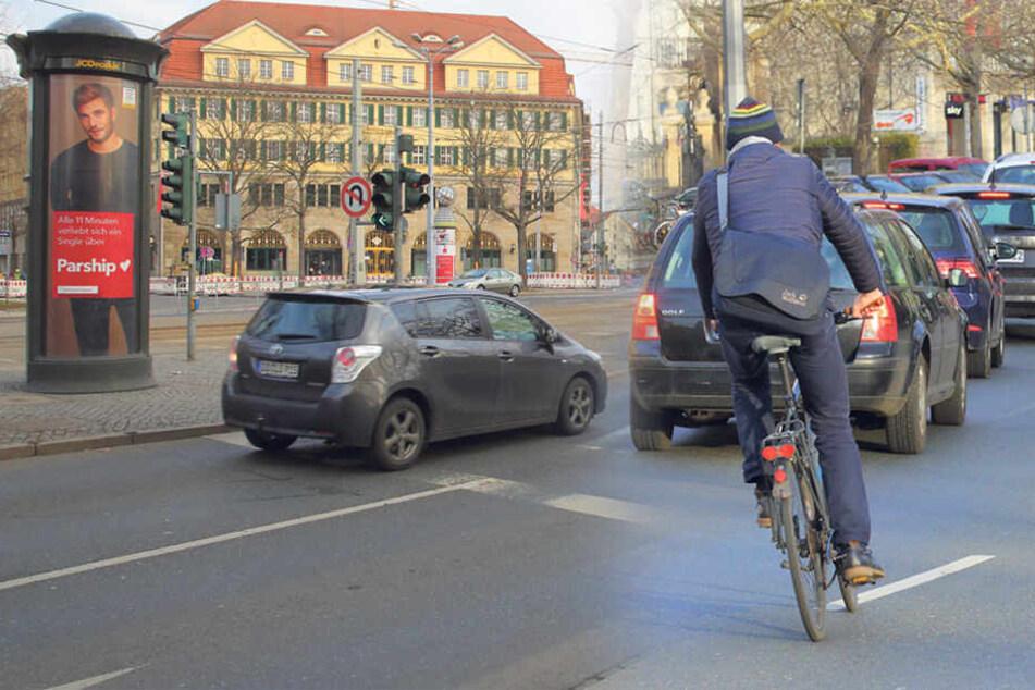 Stadt will über 2 Millionen investieren: Das sind Dresdens wichtigste Rad-Projekte